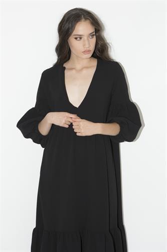 שמלת רייצל שחורה