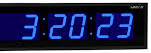 שעון קיר חשמלי גולף GOLF 4818BL