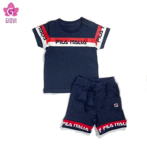 סט פרנץ טרי מכנס קצר תינוקות בנים