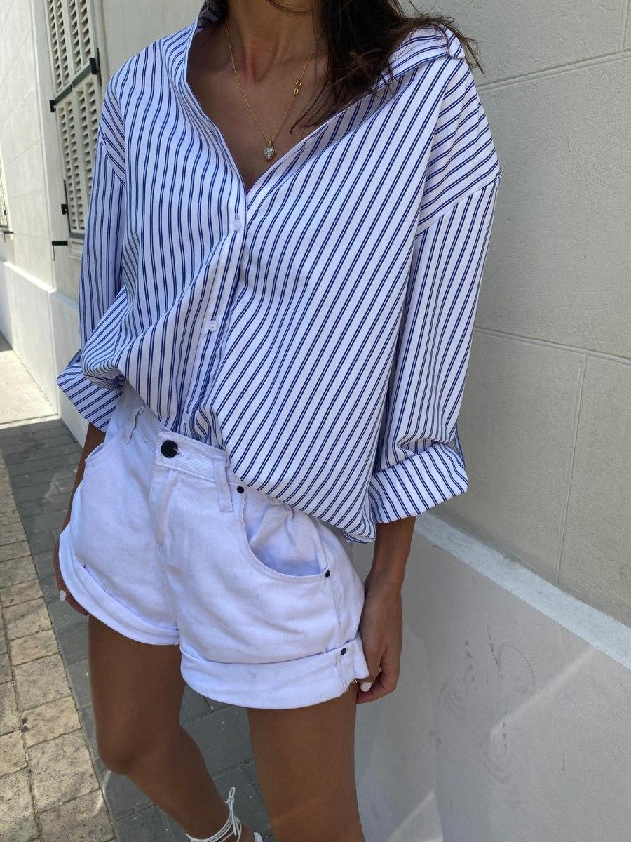 חולצת ג'רסי פסים