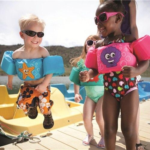 מצופי שחייה אבטחה כפולה לילדים - התו הבטוח