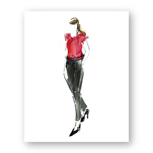 איור אופנה #18