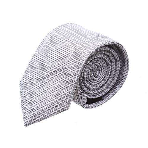 """עניבה  """"סימטריה"""" חתנים אפור"""