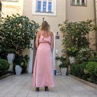 סט משי pink