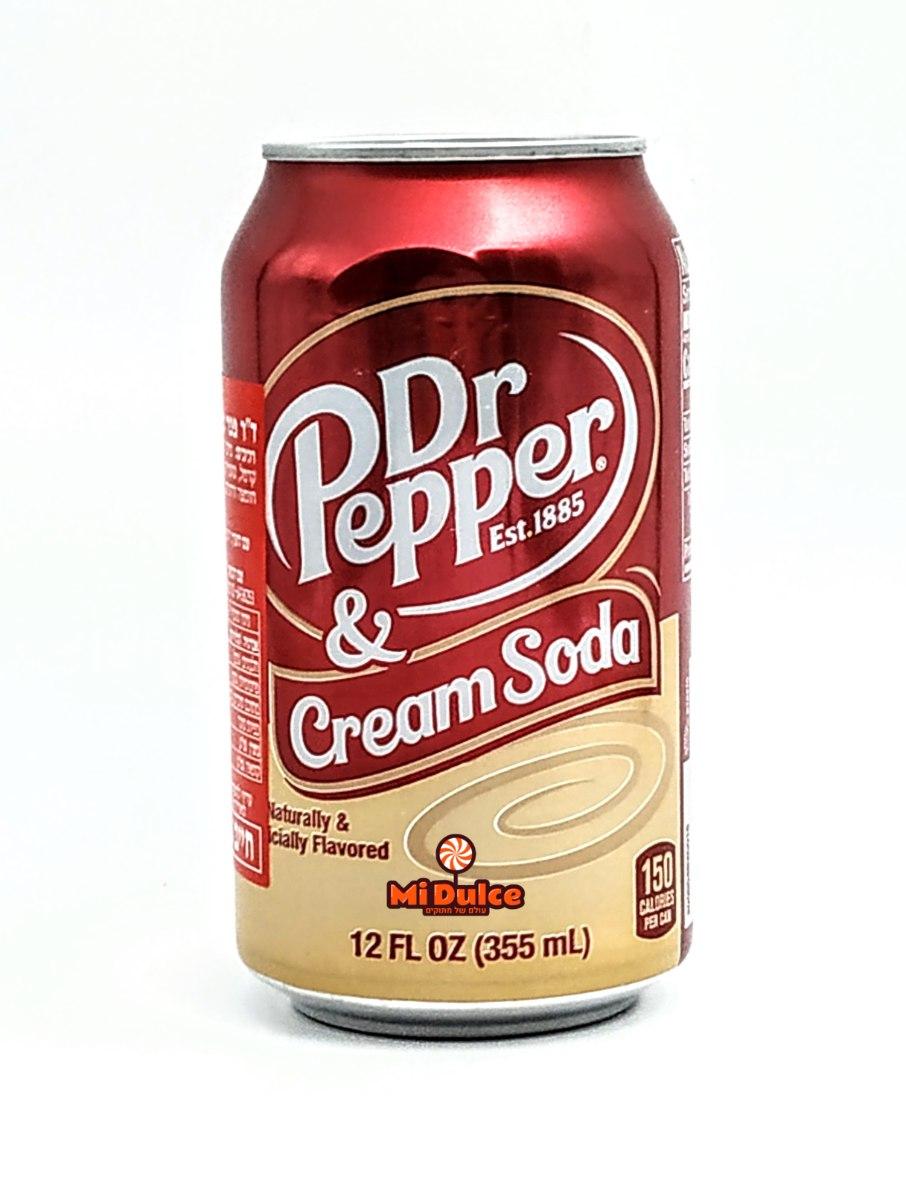 Dr Pepper Cream Soda