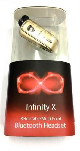 אוזניית בלוטוס INFINITY-X חוט נשלף
