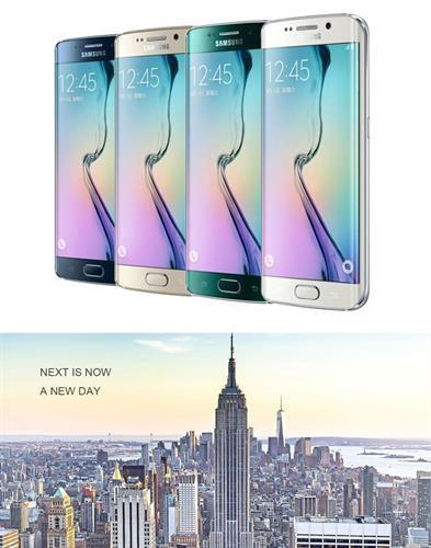 מכשיר Samsung Galaxy S6 G920F / S6 Edge G925F UNLOCKED זכרון 32GB מצלמה 16 MP מסך 5.1 אינצ'