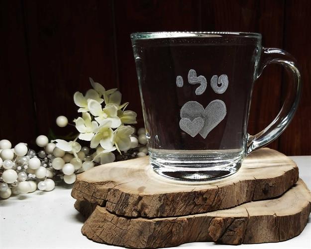 חריטה על כלי זכוכית, מתנות עם חריטה, כוסות עם חריטה