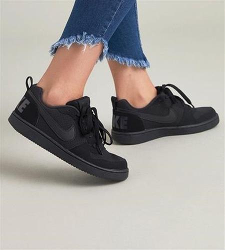 נעלי נשים נייק  Court Borough Low צבע שחור דגם 839985 001