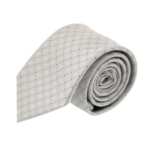 עניבה חתנים ריבועים כסוף