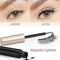 איילינר מגנטי + 5 זוגות ריסים לעיניים מושלמות