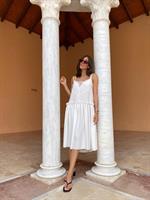 שמלת לוריין לבנה