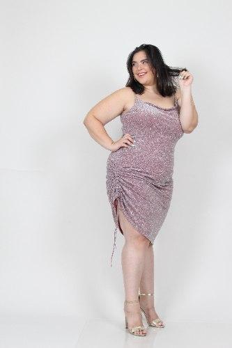 שמלת ריין לורקס ורוד