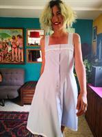 שמלת כותנה יפהפייה קלילה מידה M/L