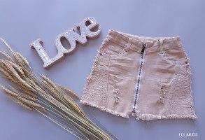 חצאית רוכסן דגם8407