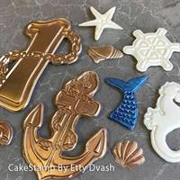 Smash  cake - sea life set