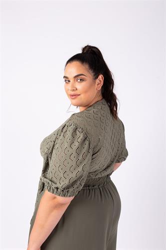 חולצת גרייס ירוקה