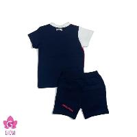 סט פרנץ טרי מכנס קצר תינוקות