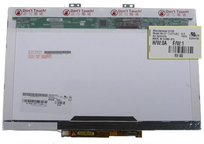 מסך מקצועי למחשב נייד ברזולוציה גבוהה AU B154PW02 V.0 15.4
