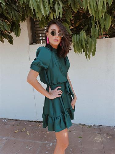 שמלת ורסאי - ירוקה