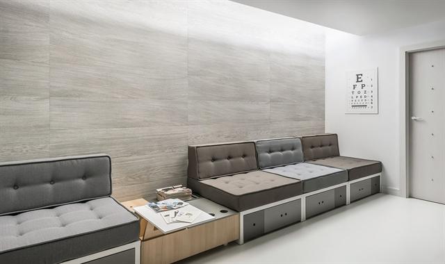 חיפוי קירות פולימרי 100% עמיד במים Kerradeco דגם ''SNOWY WOOD''