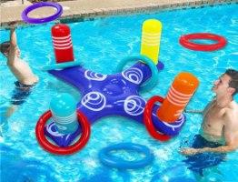 משחק טבעות מתנפח למים