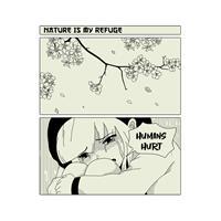 חולצת טי - Nature Is My Refuge