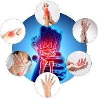 כפפת תרפיה מגנטית לטיפול בכאבי פרקים- TRPglove