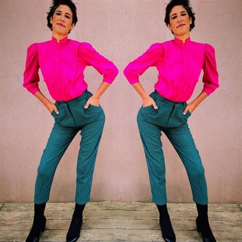 מכנסי 80S צמריים מדליקים ביותר