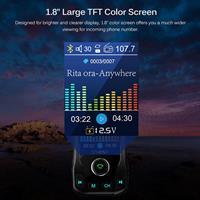 משדר fm מקצועי לרכב דגם 360 של חברת onever עם דיבורית+ושמיעת מוזיקה+הטענת ניידים