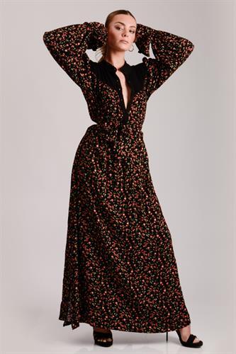 שמלת קים משולבת