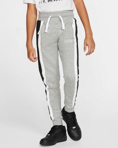 NIKE AIR מכנס טרנינג אפור לילדים