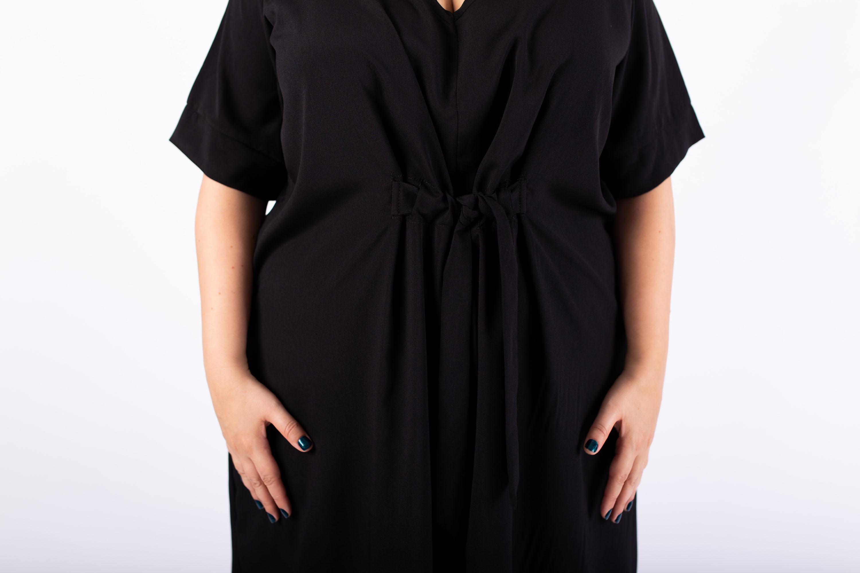 שמלת ברנדה שחורה