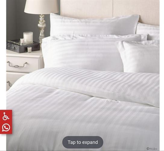 סט מלא מיטה וחצי כותנה מצרית  סט של בית מלון