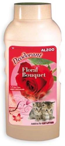 מרענן לחול חתולים בריח פרחים 750 גרם (alzoo)