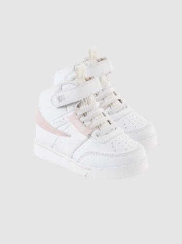 FILA נעל סניקרס גבוהה לבן עם ורוד מידות 22-29