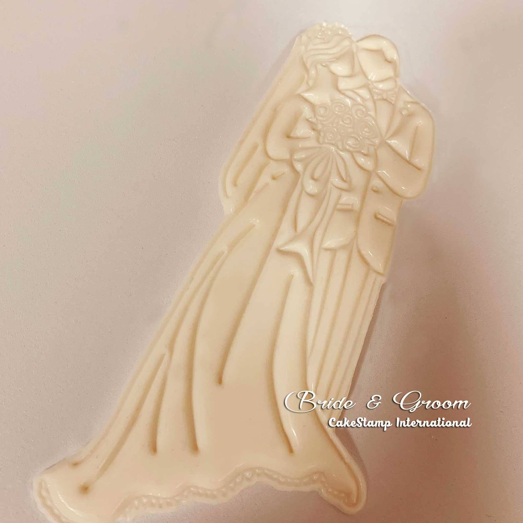 Bride and groom mold