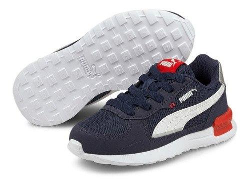 נעל ספורט כחולה PUMA