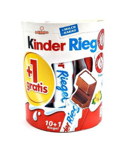 Kinder Riegel מארז עשירייה + אחד!!