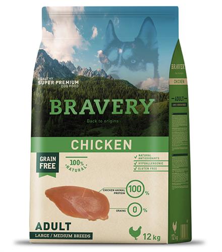 """ברוורי עוף ללא דגנים 12 ק""""ג"""