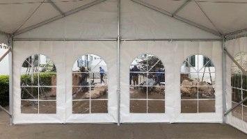 אוהל קבוע 6X15 אלומיניום ARPO