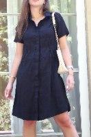 שמלת ריי שחורה