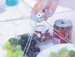 מכסה ייחודי מטריית רשת למזון