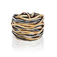 טבעת ספארי גלים