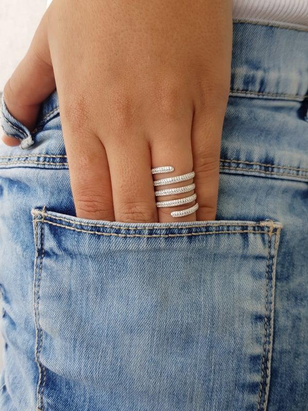 טבעת ספירלה