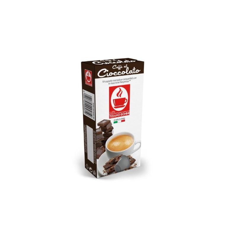 קפה בוניני Chocolate טעם שוקולד מריר - תואם נספרסו
