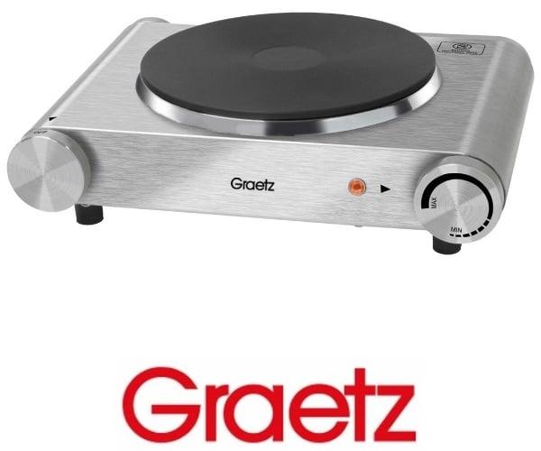 Graetz פלטת בישול יחיד נירוסטה  דגם: GR-175S