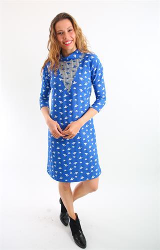 שמלת אירוס כחול רויאל