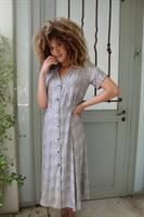 שמלה מכופתרת  טייגר