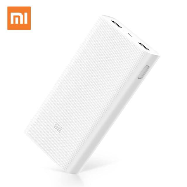 מטען נייד QC3 Xiaomi Mi Power Bank 2C 20000 mAh מקורי